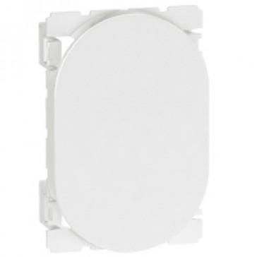 Blank modules Arteor - round - 3 modules - white