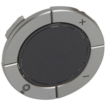 Round key cover Arteor Radio/ZigBee - for dimmer - magnesium