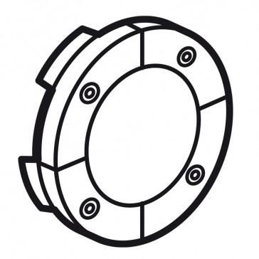 Round key cover Arteor Radio/ZigBee - for 4-scenario controller - white
