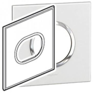 Plate Arteor - American standard - round - 3 modules - 4''x4'' - white