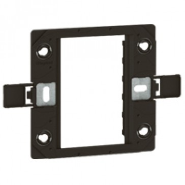 Support frame Arteor - for BS type boxes - 1-gang - 3 modules