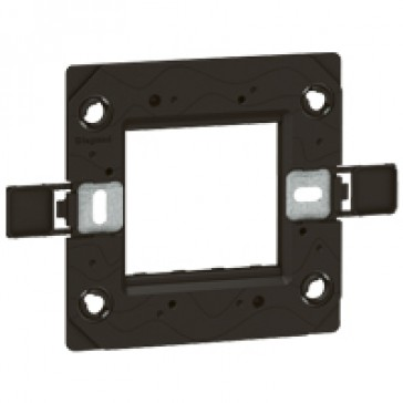 Support frame Arteor - for BS type boxes - 1-gang - 1 or 2 modules