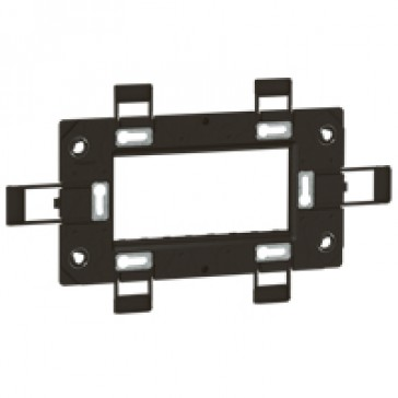Support frame Arteor - for German/French boxes - 4 modules