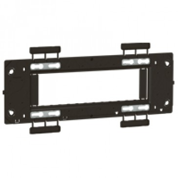 Support frame Arteor - for German/French boxes - 6 horizontal modules