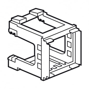 modular support Arteor - for mounting on symmetrical rail