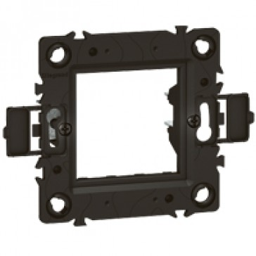 Support frame Arteor - for German/French boxes - claw mounting - 1 or 2 modules