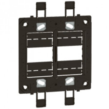 Support frame Arteor - for US type boxes - 4''x4'' - 2 x 3 modules