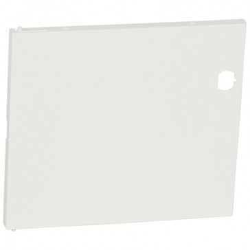 Door - for Nedbox 6012 40 - white plastic - polycarbonate