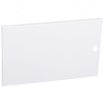 Door - for Nedbox 6012 41 - white plastic - polycarbonate