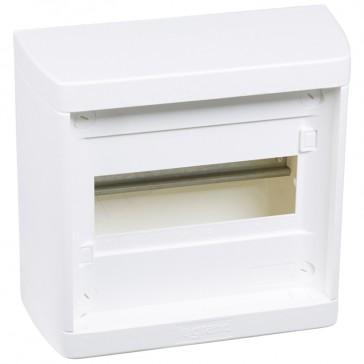 Distribution cabinet Nedbox - 1x8 modules - surface mount - quick motion screws
