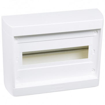 Distribution cabinet Nedbox - 1x12+1 module -surface mount -quick motion screws