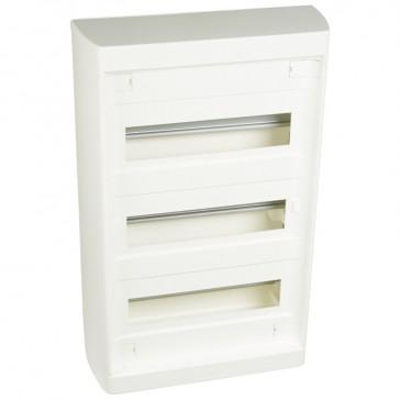 Distribution cabinet Nedbox - 3x12+3 modules - surface mounting - fast locking