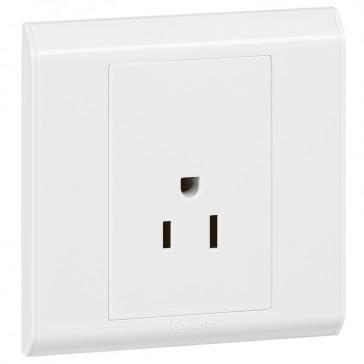 US socket outlet Belanko - 1 gang - 2P+E - 15 A - 127 V~
