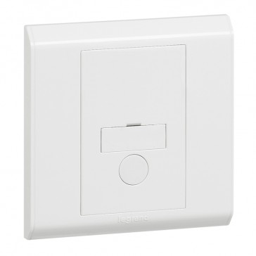 Fused connection unit Belanko - unswitched + cord outlet - 13 A