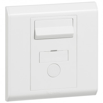 Fused connection unit Belanko - switched + cord outlet - 13 A