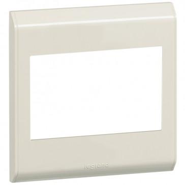Cover plate Belanko - 1 gang - horizontal beige
