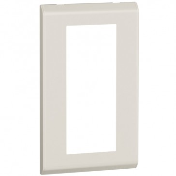 Cover plate Belanko - 2 gang - vertical beige