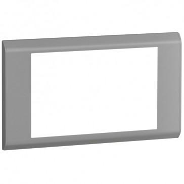 Cover plate Belanko - 2 gang - horizontal taupe