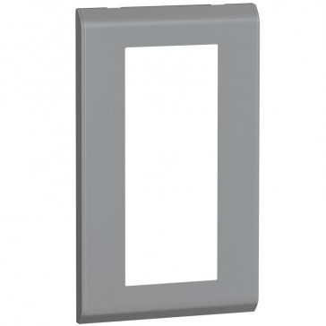 Cover plate Belanko - 2 gang - vertical taupe