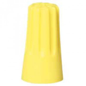 Connector without screw - Capvis cap - capacity 4 mm² - yellow - bucket