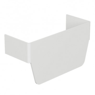 Flat junction for rigid cover DLP-S snap-on trunking 130x50 mm - creates a junction with 130x50 mm vertical trunking