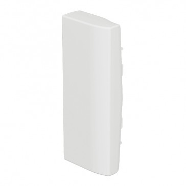 End cap for rigid cover DLP-S snap-on trunking 130x50 mm