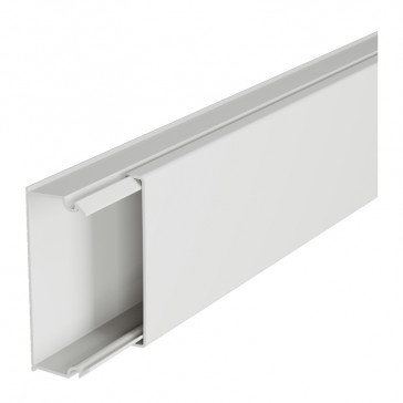 Distribution mini-trunking 50 x 20 mm - without central partition - 2 m length