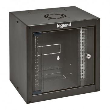 "Linkeo 10"" compact cabinet - capacity 6U - dimensions 358x370x300 mm - ready-assembled"