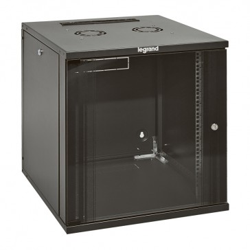 "Linkeo fix 19"" cabinet with removable side panels - capacity 18U - dimensions 871x600x600 mm - ready-assembled"