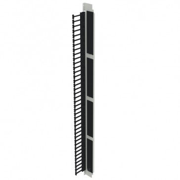 Set of 2 vertical cable managers panels - for Linkeo 47U 800 mm wide cabinets