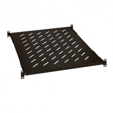 "Fixed shelf Linkeo - 1 U - depth 425 mm - screw fixing on 4 x 19"" uprights"