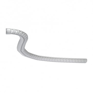 Flexible Ovaline kit for snap-on columns - for horizontal connection to cable trays - length 1 m - with fixing bracket