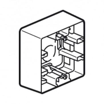 Surface mounting box Niloé - 1 gang - ivory