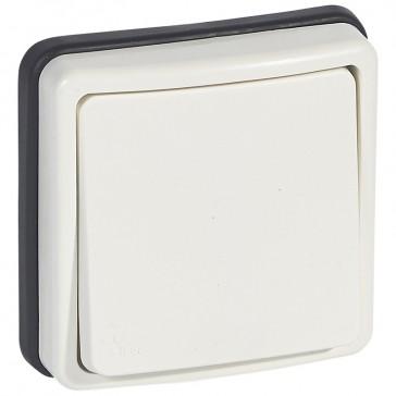 Push-button Plexo 66 - 1 gang - 2 way - 6 A 250 V~ - flush mounting