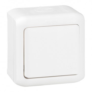 Intermediate switch Forix - surface mounting - 10 AX 250 V~ - white