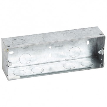 Flush-mounting boxes - for Arteor British standard - 6 modules