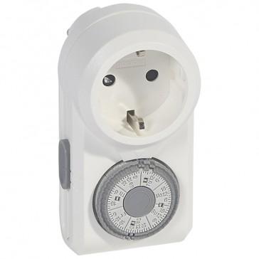 OmniRex W-Plug-in time switch-7-day programme-German standard-switching step 2 hours
