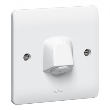 Cable outlet Synergy - with terminal block - 20 A 250 V~ - white