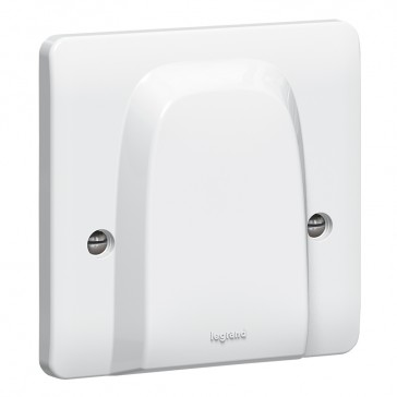 Cable outlet Synergy - with terminal block - 45 A 250 V~ - white