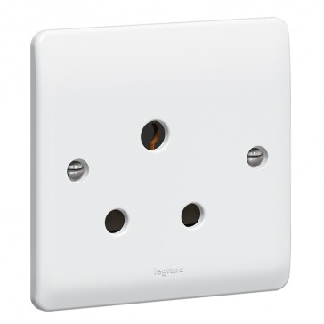 Socket outlet Synergy - 1 gang unswitched - 15 A 250 V~ - white