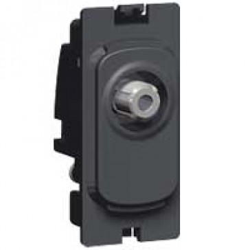 SAT socket Grid modules Synergy - screened SAT - anthracite