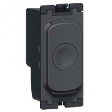 Dimmer Grid modules Synergy - push dimmer - 2 way - 300 W- anthracite