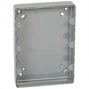 Surface mounting box Synergy - steel - 3x2 gang - without knockout