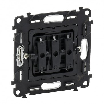 3-gang one-way switch Valena In'Matic - 10 AX 250 V~