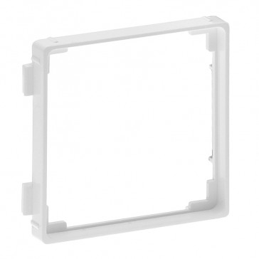 Adaptor for 50 x 50 mm mechanisms Valena Life - DIN 49075 - white