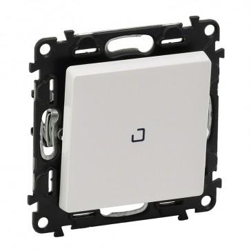 Illuminated intermediate switch Valena Life - 10 AX 250 V~ - white