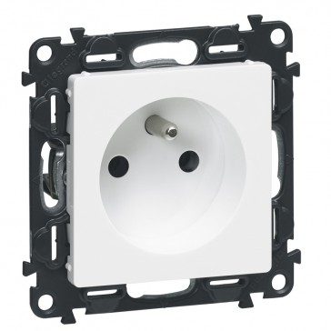 Cover plate Valena Allure - motion sensor with override - white