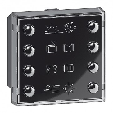 8 push-button Valena Life - control lighting, automation and scenario functions