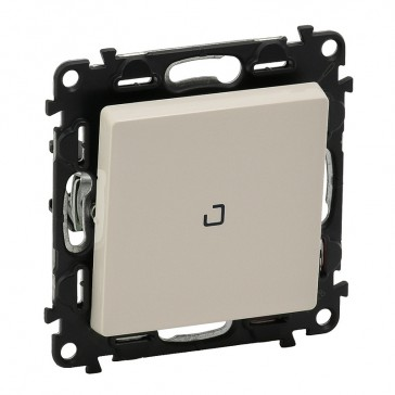 One-way indicator switch Valena Life - 10 AX 250 V~ - with cover plate - ivory