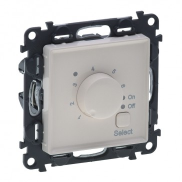 Cover plate Valena Life - floor heating thermostat - with mechanism - ivory